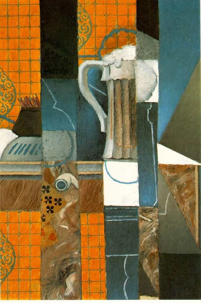 Glass of Beer and Playin... is listed (or ranked) 4 on the list Famous Juan Gris Paintings