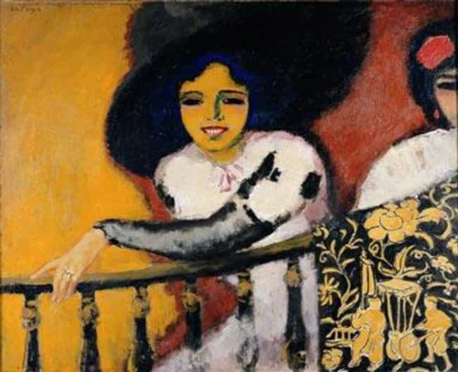 In the Plaza, or Women a... is listed (or ranked) 1 on the list Famous Kees van Dongen Paintings