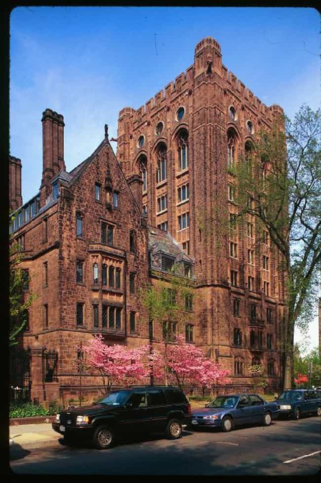 Bingham Hall is listed (or ranked) 2 on the list Famous Collegiate Gothic Buildings