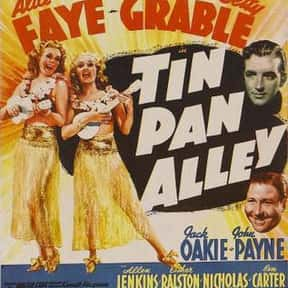 Tin Pan Alley is listed (or ranked) 14 on the list The Best Musical Movies of All Time