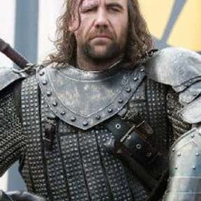 Rory McCann is listed (or ranked) 8 on the list The Best Game of Thrones Actors