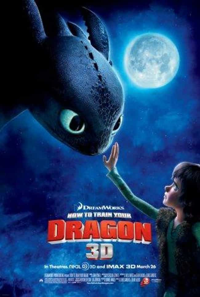 How to Train Your Dragon is listed (or ranked) 3 on the list The Best Animated Movie Posters
