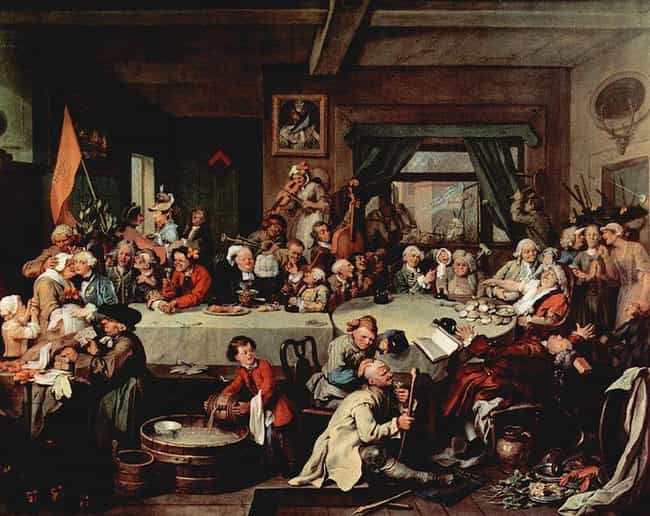 An Election Entertainmen... is listed (or ranked) 1 on the list Famous William Hogarth Paintings