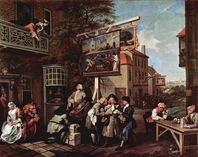 Canvassing for Votes is listed (or ranked) 2 on the list Famous William Hogarth Paintings