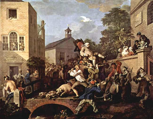 Chairing the Member is listed (or ranked) 3 on the list Famous William Hogarth Paintings