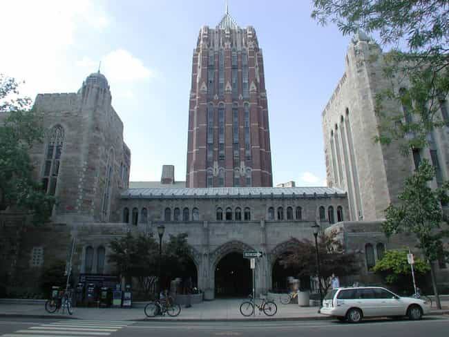 Hall of Graduate Studies is listed (or ranked) 4 on the list Famous Collegiate Gothic Buildings