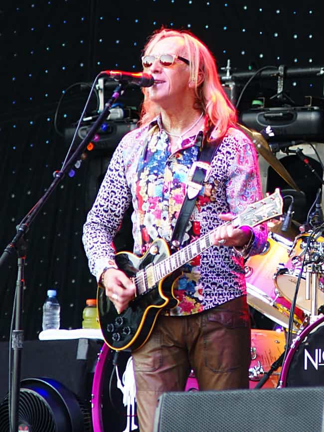 Davey Johnstone is listed (or ranked) 3 on the list Famous Guitarists from Edinburgh