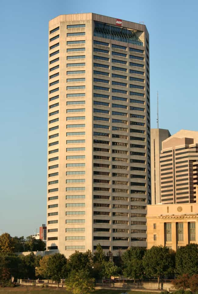 AEP Building is listed (or ranked) 2 on the list List of Famous Columbus Buildings & Structures