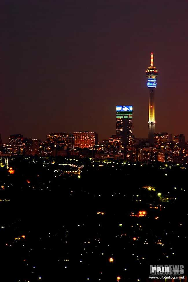 Hillbrow Tower is listed (or ranked) 4 on the list List of Famous Johannesburg Buildings & Structures