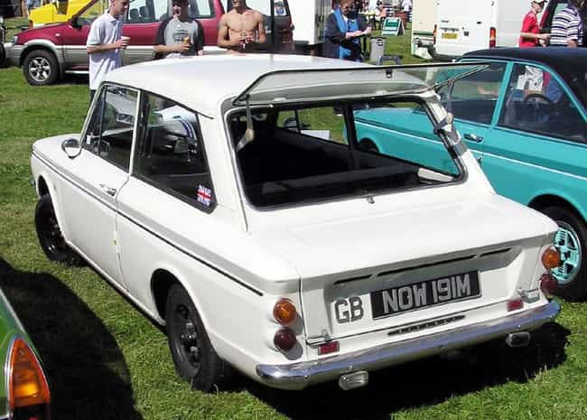Hillman Imp is listed (or ranked) 1 on the list Full List of Hillman Models