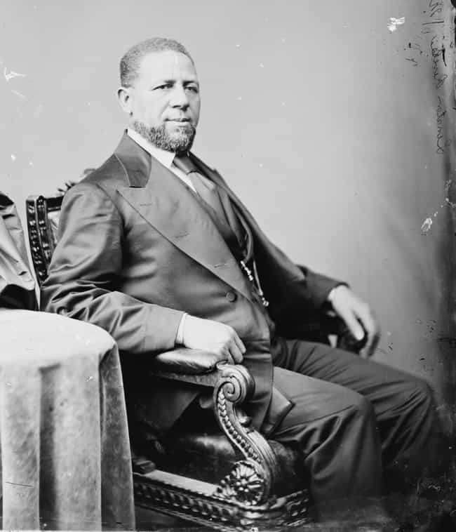Hiram Rhodes Revels is listed (or ranked) 1 on the list Famous Male Barbers