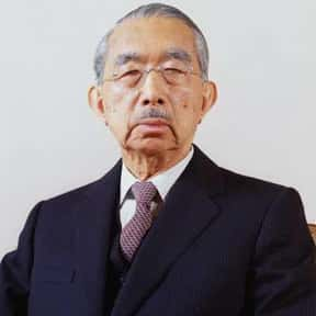 Hirohito is listed (or ranked) 23 on the list List of Famous Statesmen