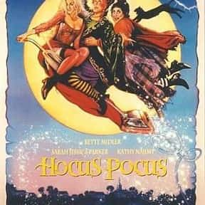 Hocus Pocus is listed (or ranked) 10 on the list The Greatest Kids Movies of the 1990s