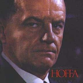 Hoffa is listed (or ranked) 20 on the list The Best Mafia Films