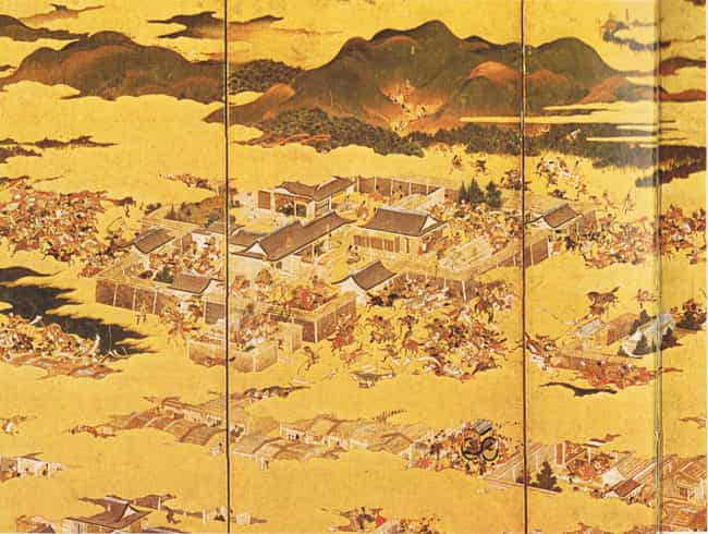 Hōgen Rebellion is listed (or ranked) 4 on the list List Of Heian period Battles