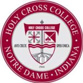 Holy Cross College is listed (or ranked) 2 on the list Saints Mascot School List