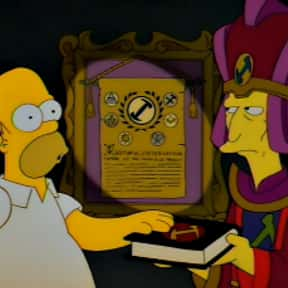 Homer the Great is listed (or ranked) 2 on the list The Best Episodes of The Simpsons