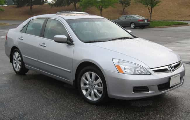 honda accord is listed or ranked 2 on the list full list of honda