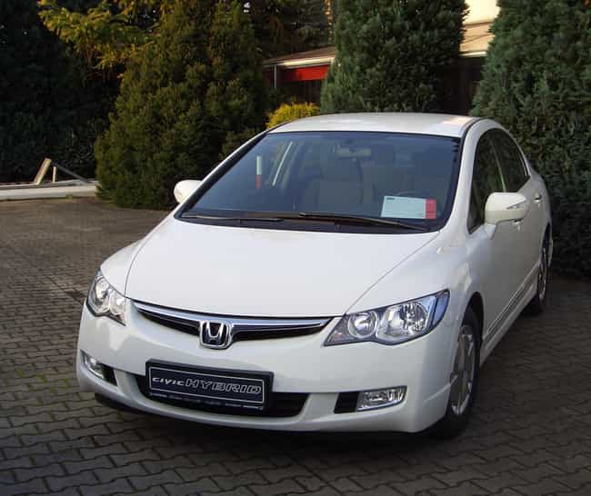 honda civic hybrid is listed or ranked 3 on the list full list of