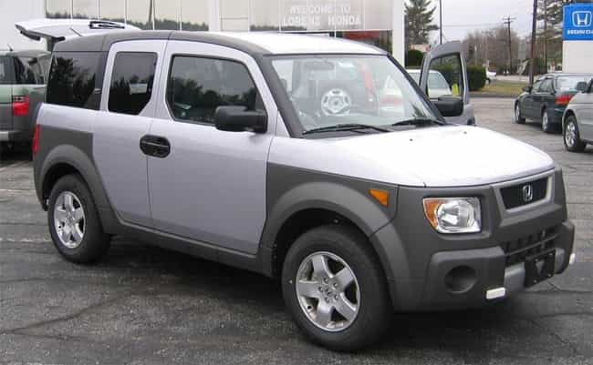 Honda Element is listed (or ranked) 1 on the list The Best Cars for the Great Outdoors
