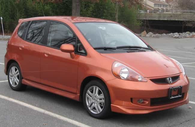 Honda Fit Is Listed Or Ranked 1 On The List Full Of
