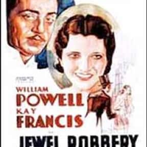 Jewel Robbery is listed (or ranked) 24 on the list The Best '30s Romantic Comedies