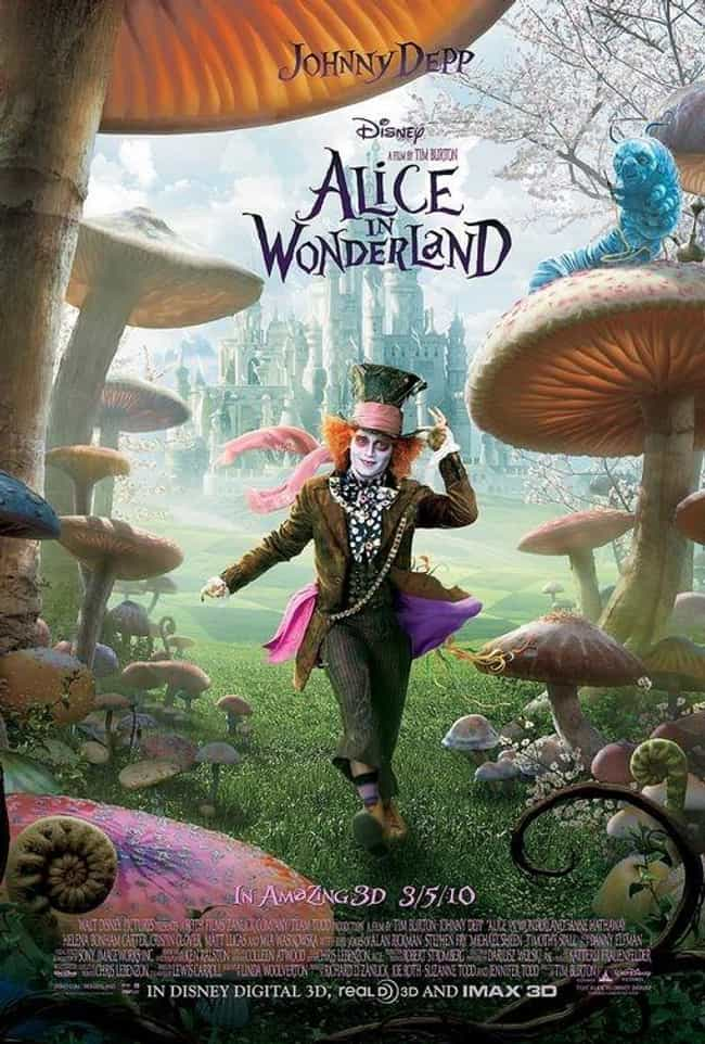 Alice in Wonderland is listed (or ranked) 4 on the list The Best Fantasy Movie Posters