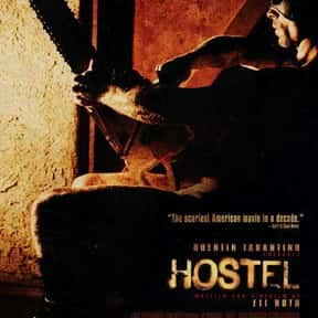 Hostel is listed (or ranked) 6 on the list The Best Horror Movies Set in Hotels