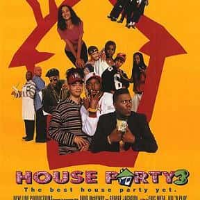 House Party 3 is listed (or ranked) 14 on the list The Best '90s Hip Hop Movies