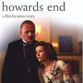 Howards End is listed (or ranked) 22 on the list The Best 90s Movies On Netflix, Ranked