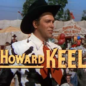 Howard Keel is listed (or ranked) 11 on the list Full Cast of The War Wagon Actors/Actresses