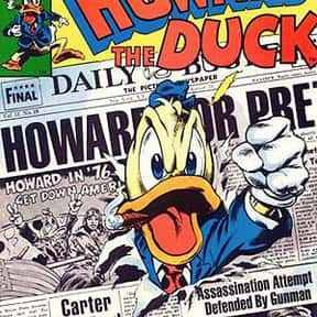 Howard the Duck is listed (or ranked) 14 on the list The Coolest Comic Characters That Aren't Superheroes