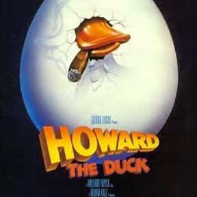 Howard the Duck is listed (or ranked) 10 on the list The Worst CGI Kids Movies