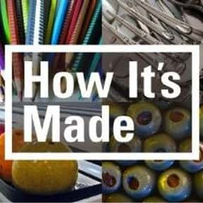 How It's Made is listed (or ranked) 2 on the list The Best The Science Channel TV Shows