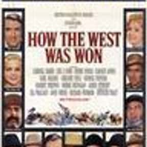 How the West Was Won is listed (or ranked) 22 on the list The Most Patriotic Movies of All Time