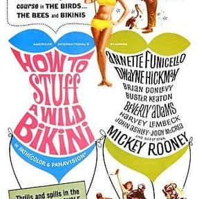 How to Stuff a Wild Bikini is listed (or ranked) 12 on the list The Best Teen Movies of the 1960s