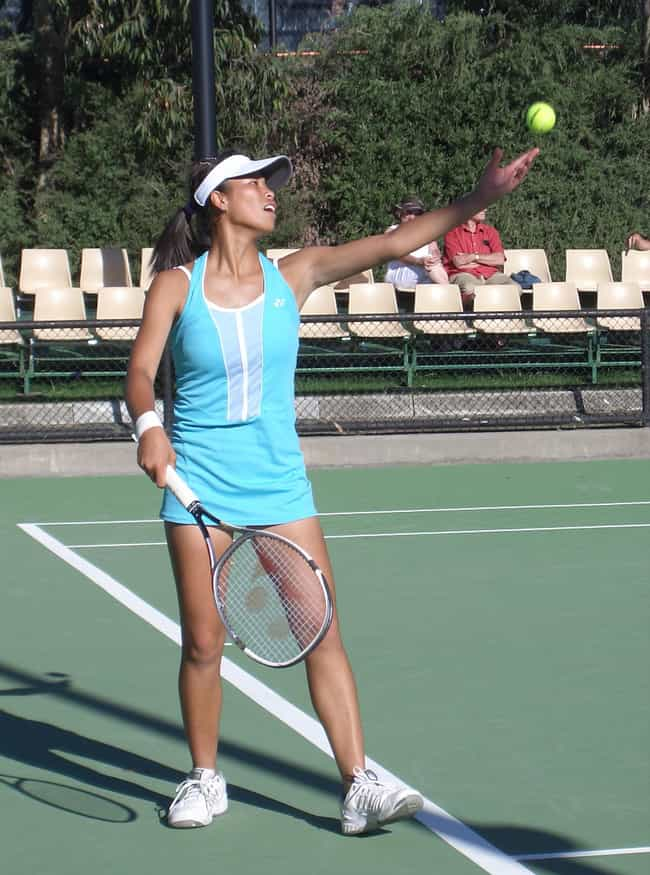 Hsieh Su-wei is listed (or ranked) 1 on the list The Best Tennis Players from Taiwan
