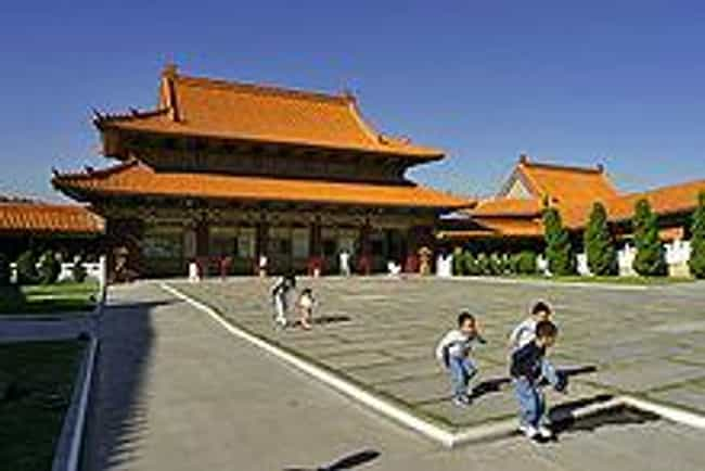 Hsi Lai Temple Is Listed Or Ranked 4 On The List Famous Chinese Architecture