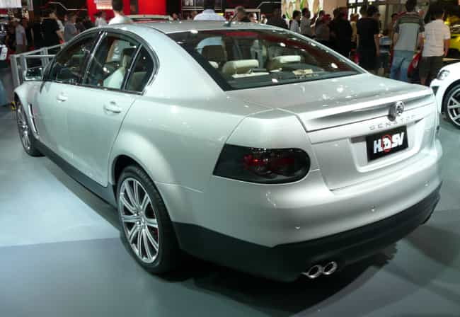 HSV Senator is listed (or ranked) 4 on the list Full List of HSV Models