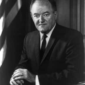 Hubert Humphrey is listed (or ranked) 16 on the list Famous University Of Minnesota Alumni