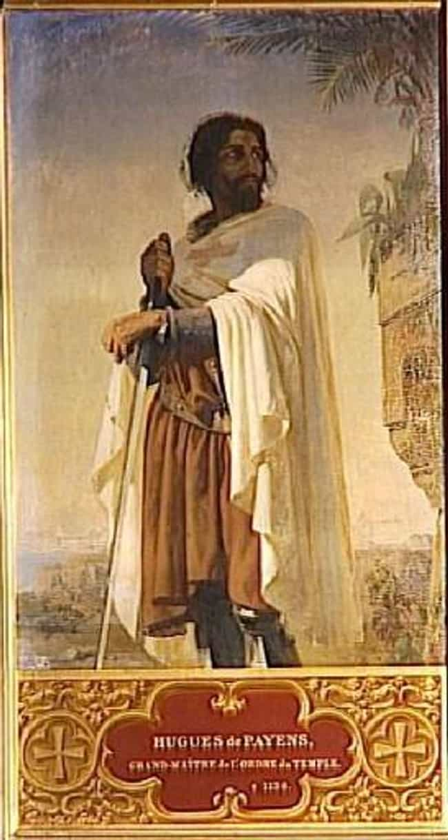 Hugues de Payens is listed (or ranked) 3 on the list Famous Knights Templar Members