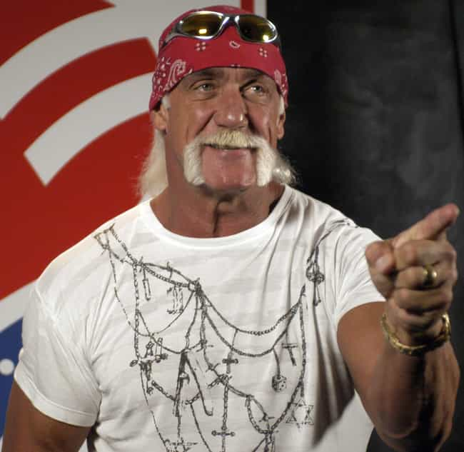 Hulk Hogan is listed (or ranked) 3 on the list Crazy Celebrity Quotes You Won't Believe Are Real
