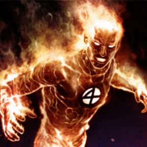 Human Torch is listed (or ranked) 3 on the list List of Fantastic Four Characters