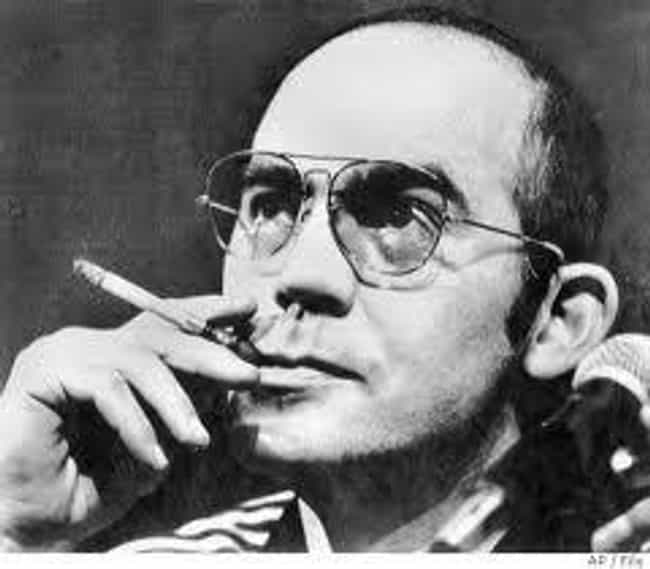 Hunter S. Thompson is listed (or ranked) 3 on the list Famous Male Reporters