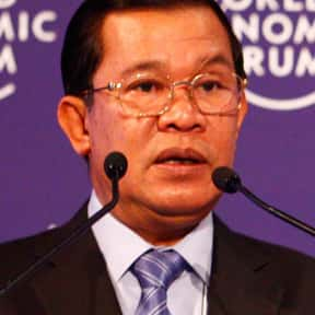Hun Sen is listed (or ranked) 20 on the list List of Famous Dictators