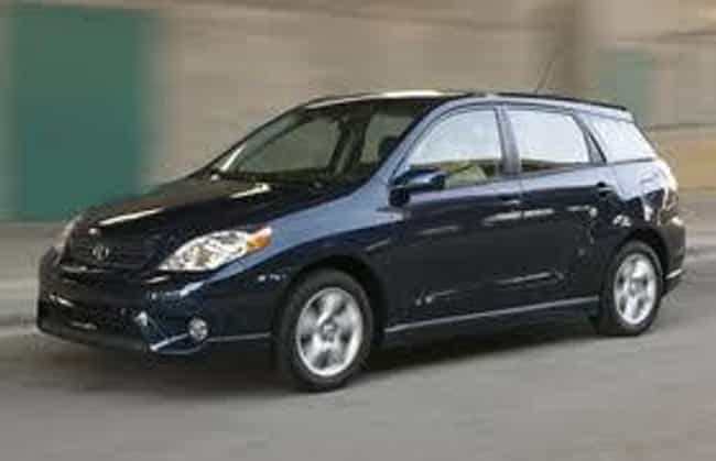 2008 toyota matrix is listed or ranked 3 on the list list of popular