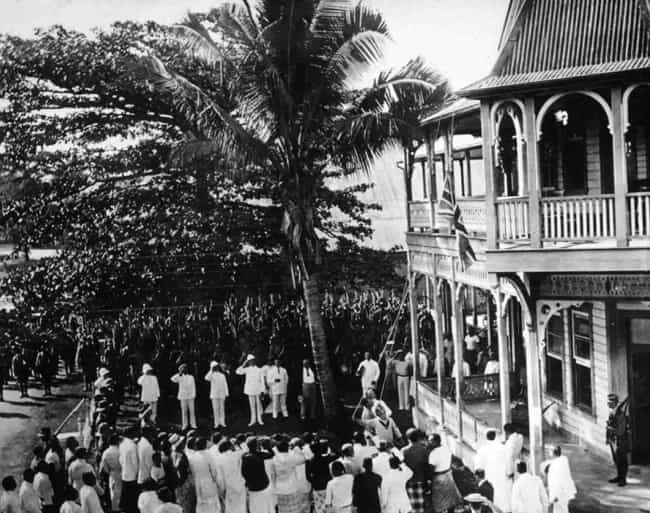 Occupation of German Samoa is listed (or ranked) 3 on the list List Of Asian and Pacific theatre of World War I Battles
