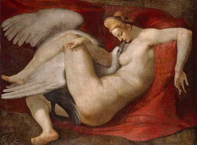 Leda and the Swan is listed (or ranked) 3 on the list Famous Leda and the Swan Art