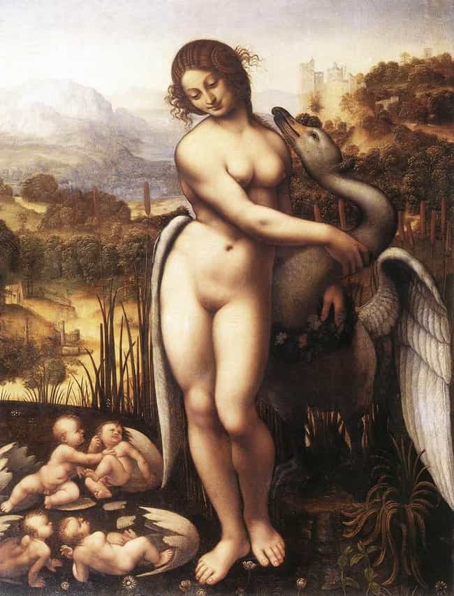 Leda and the Swan is listed (or ranked) 4 on the list Famous Leda and the Swan Art