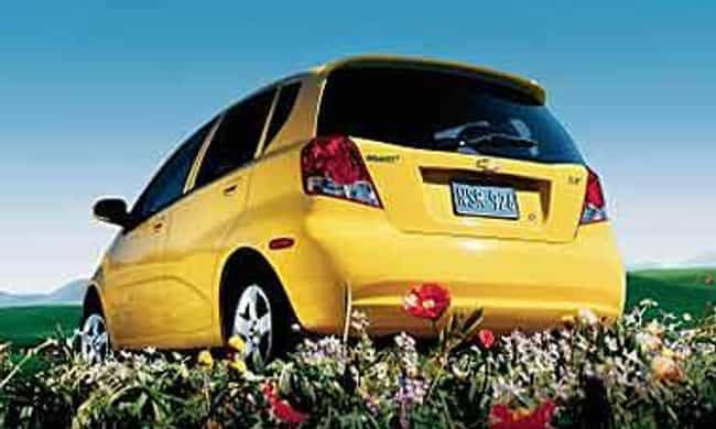 2007 Chevrolet Aveo5 is listed (or ranked) 3 on the list List of 2007 Chevrolets